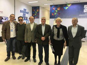 Coordenadores, diretores e professores ADM e SEBRAESP